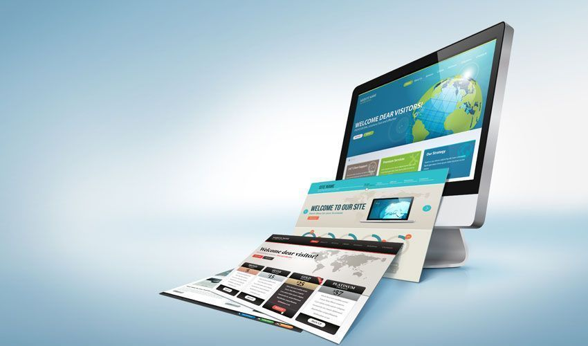 Características del diseño web plano