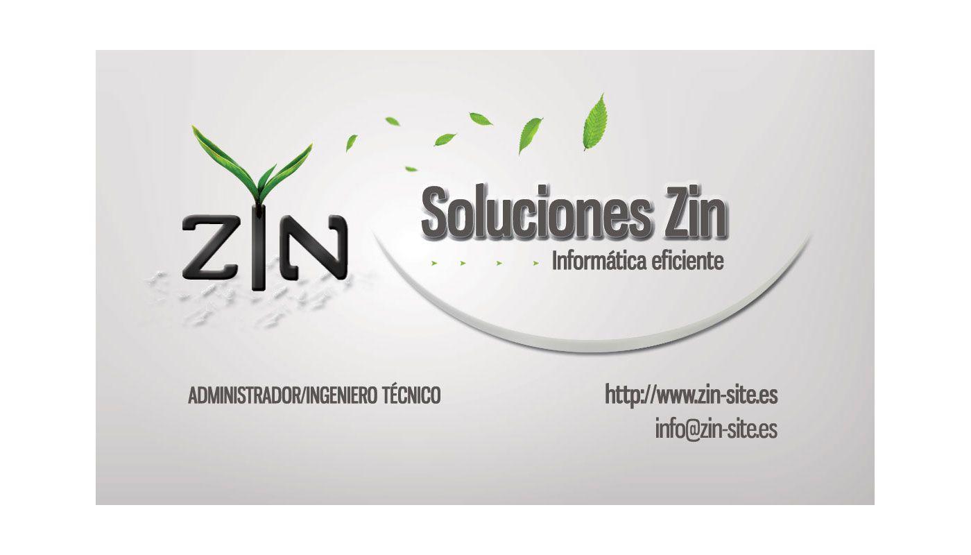 Diseño de tarjeta Soluciones Zin