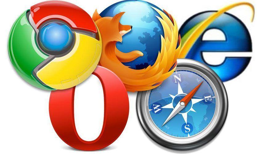 Tipos de navegadores para acceder a un sitio web