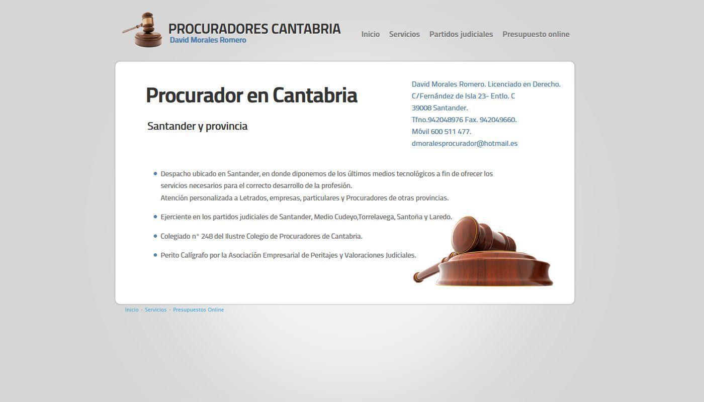 Sitio web de David Morales