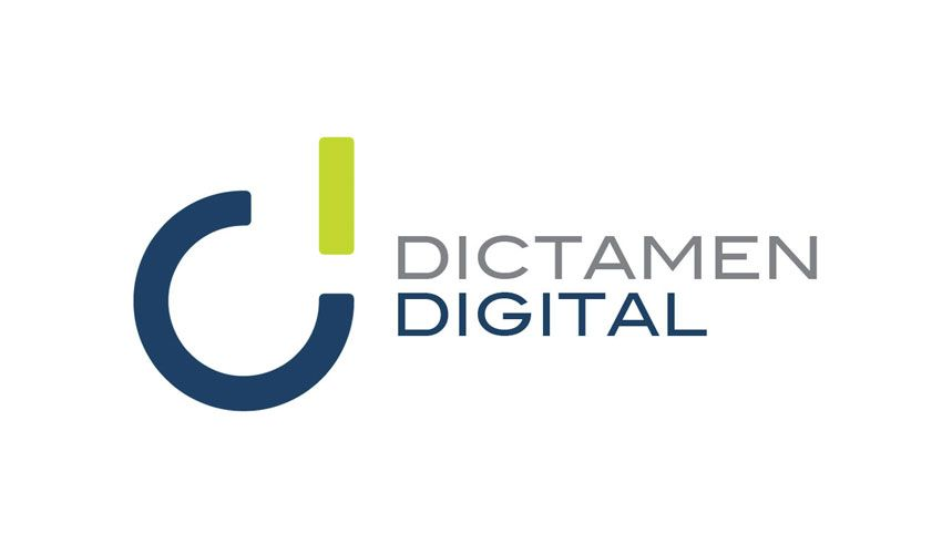 Diseño de logotipo para blog Dictamen Digital
