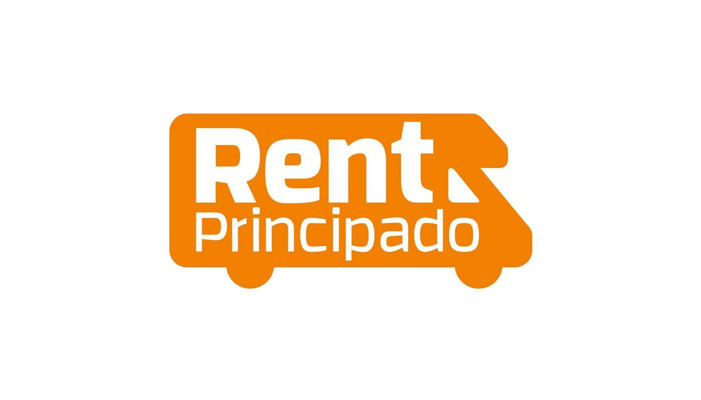 Diseño de logotipo corporativo Rent Principado