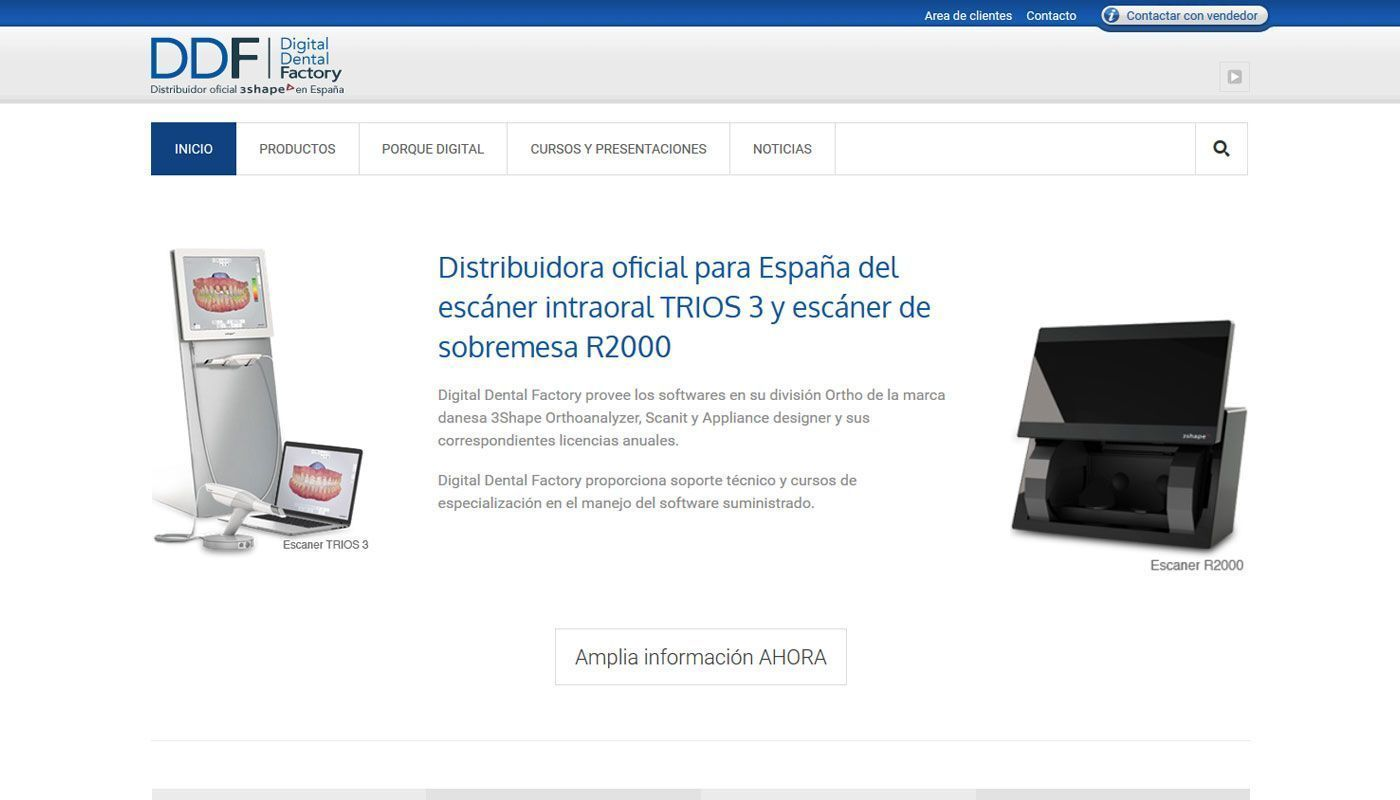 Mantenimiento web Digital dental