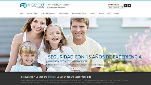 viserco pagina web preview