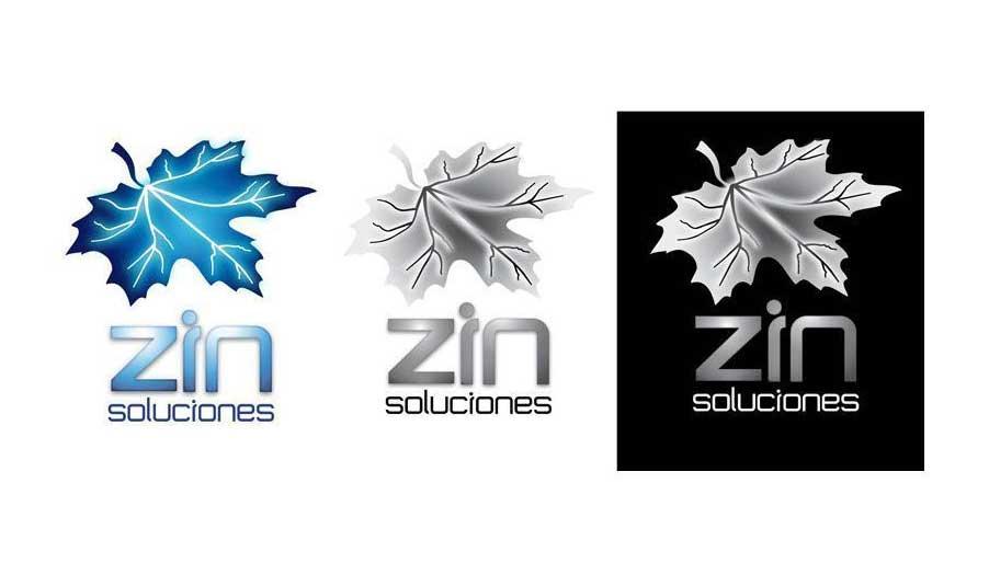 Diseño de logotipo en Santander Zin Soluciones