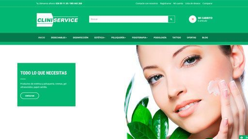 clini service web preview