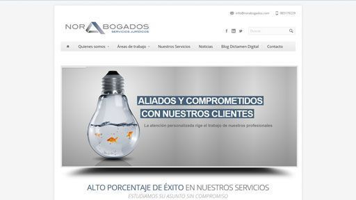 norabogados web preview