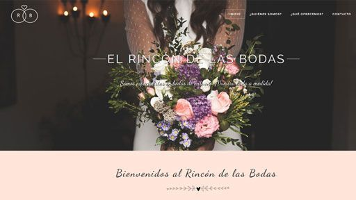 rincon bodas web preview