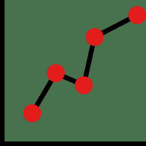 Gráfica gestión y estadísticas de redes sociales