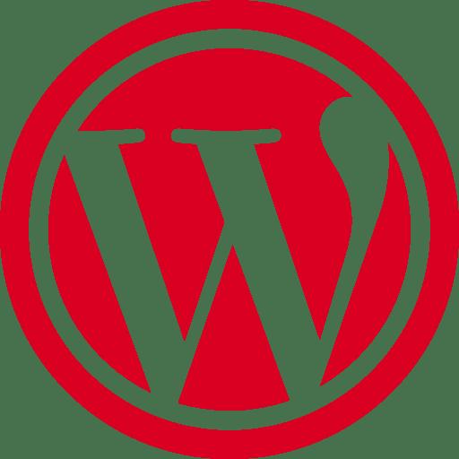 Imagen logotipo WordPress