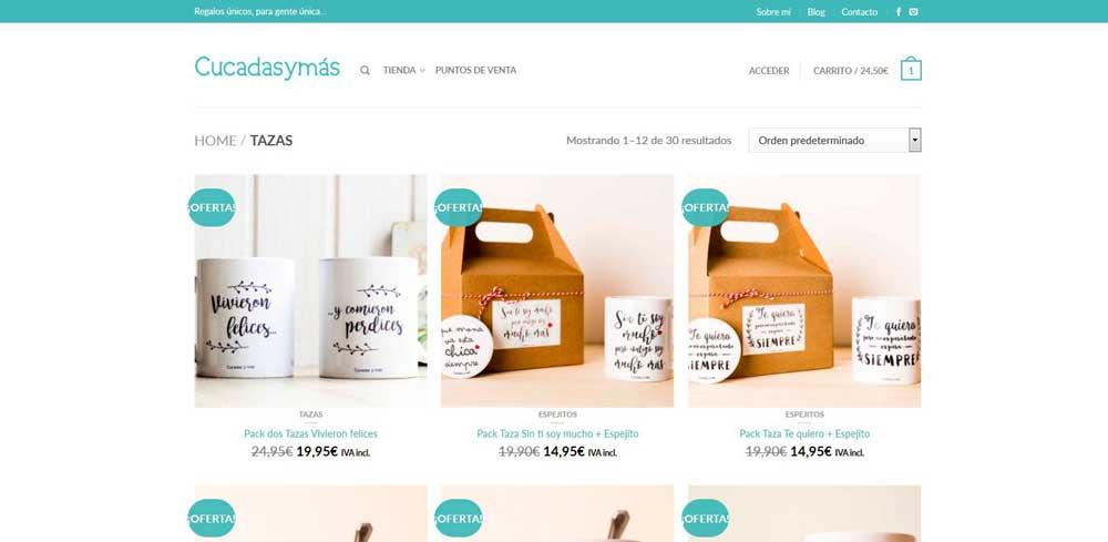 Diseño web Cucadas y más