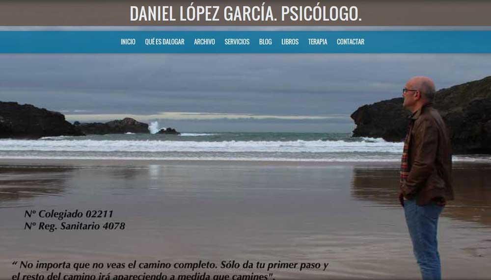 Diseño web Daniel López psicólogo