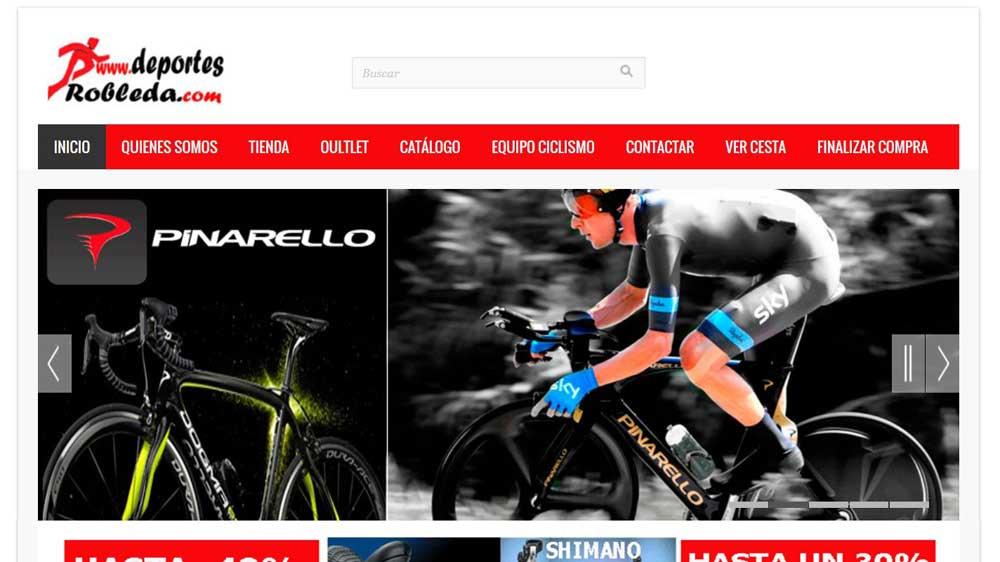 Diseño web Deportes Robleda