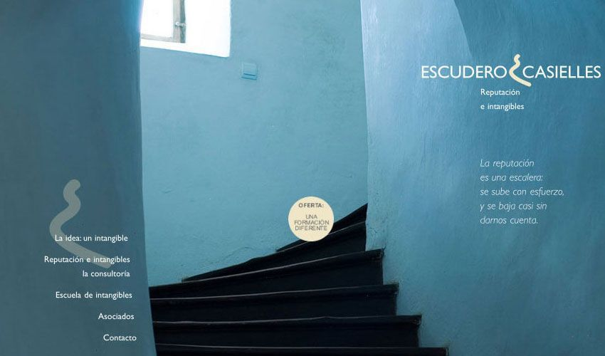 Diseño web Escudero Casielles