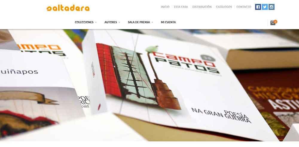Diseño web Saltadera
