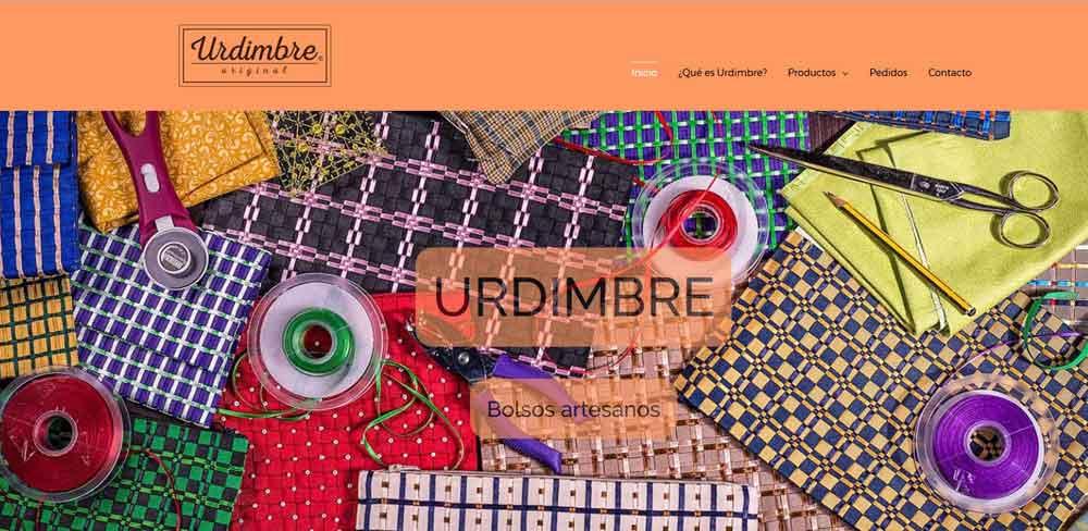 Diseño web Urdimbre