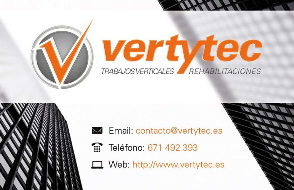 Diseño de tarjeta Vertytec