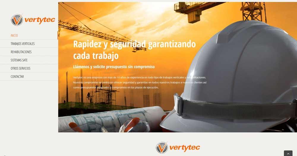 Diseño web Vertytec
