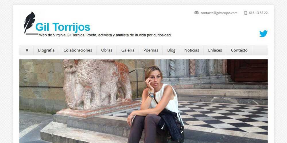 Diseño web Gil Torrijos