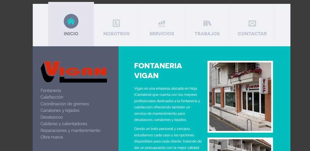 Diseño web Vigan