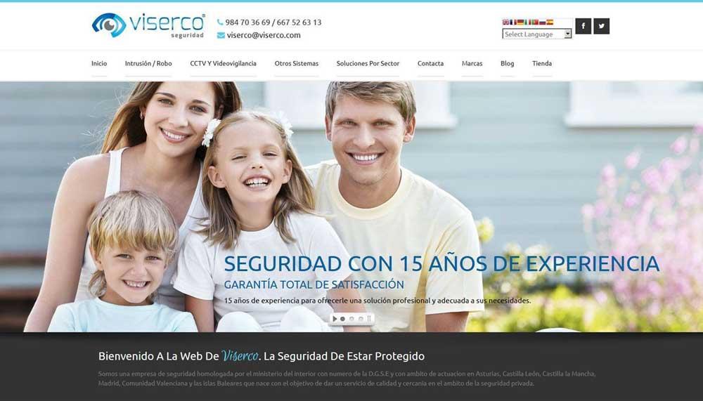 Diseño web Viserco