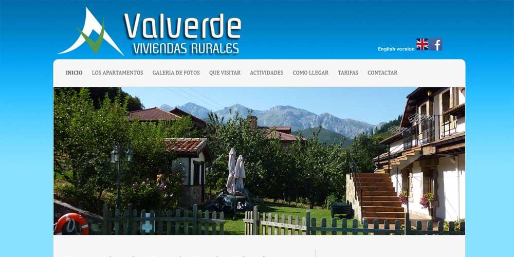 Diseño web Viviendas Valverde