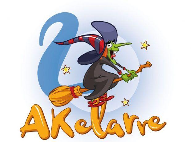Diseño de logotipo Akelarre Azkuena