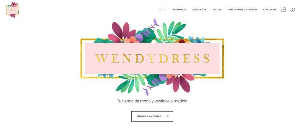 Tienda online Wendy dress