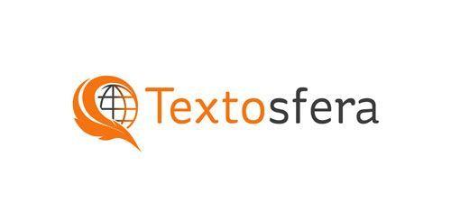 Textosfera. Diseño de logotipo