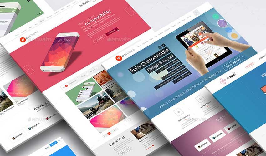 Evolución en las tendencias de los diseños de páginas web entre 2013 y 2018