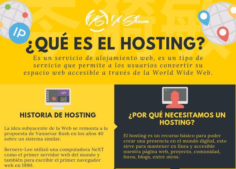 Qué es un servidor hosting o alojamiento web