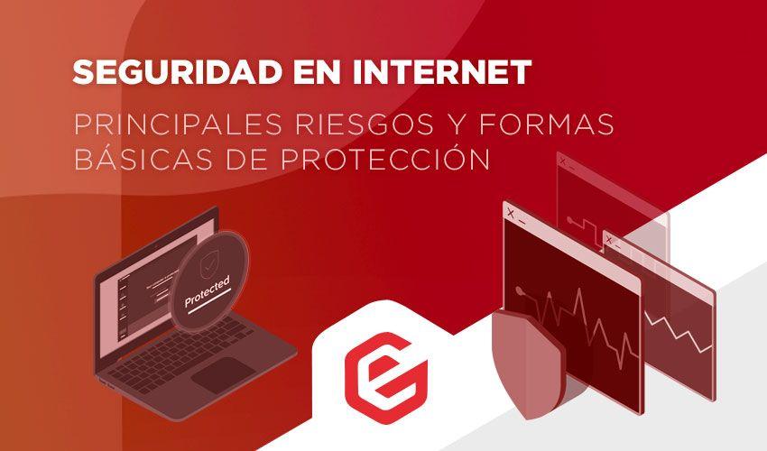 Seguridad en Internet: Principales riesgos y formas básicas de protección