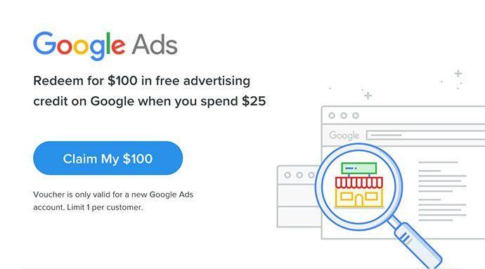 Conseguir cupones Google Ad Words