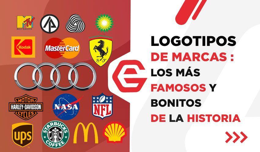Logotipos de marcas: Los más famosos y bonitos de la historia