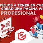 5 consejos a tener en cuenta para crear una página web profesional