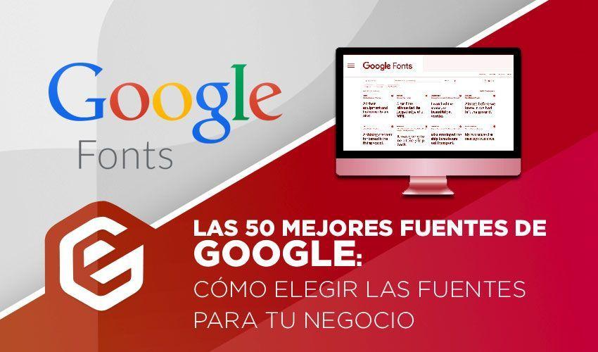 Diseño web con Google fonts