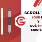 Scroll web: Qué es y tipos que existen