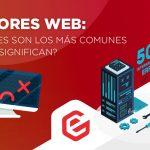Errores web. Tipos y qué esignifican